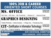 Job and Career Oriented Short Courses