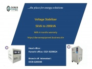 Voltage stabilizer 50kva three phase with 6 months warranty