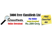 Free Classified Site List 2020