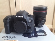 For sale Canon EOS 5D Mark III with 24-105MM